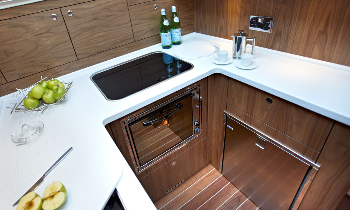Haines 32 Sedan Galley