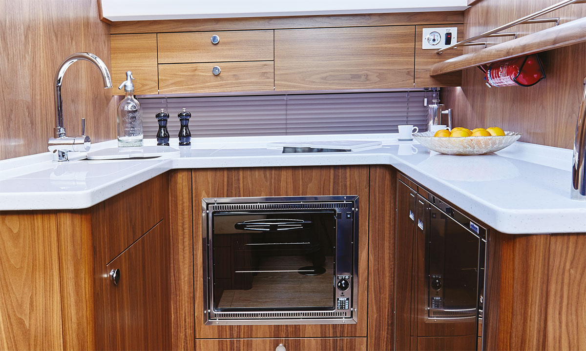Haines 400 Galley