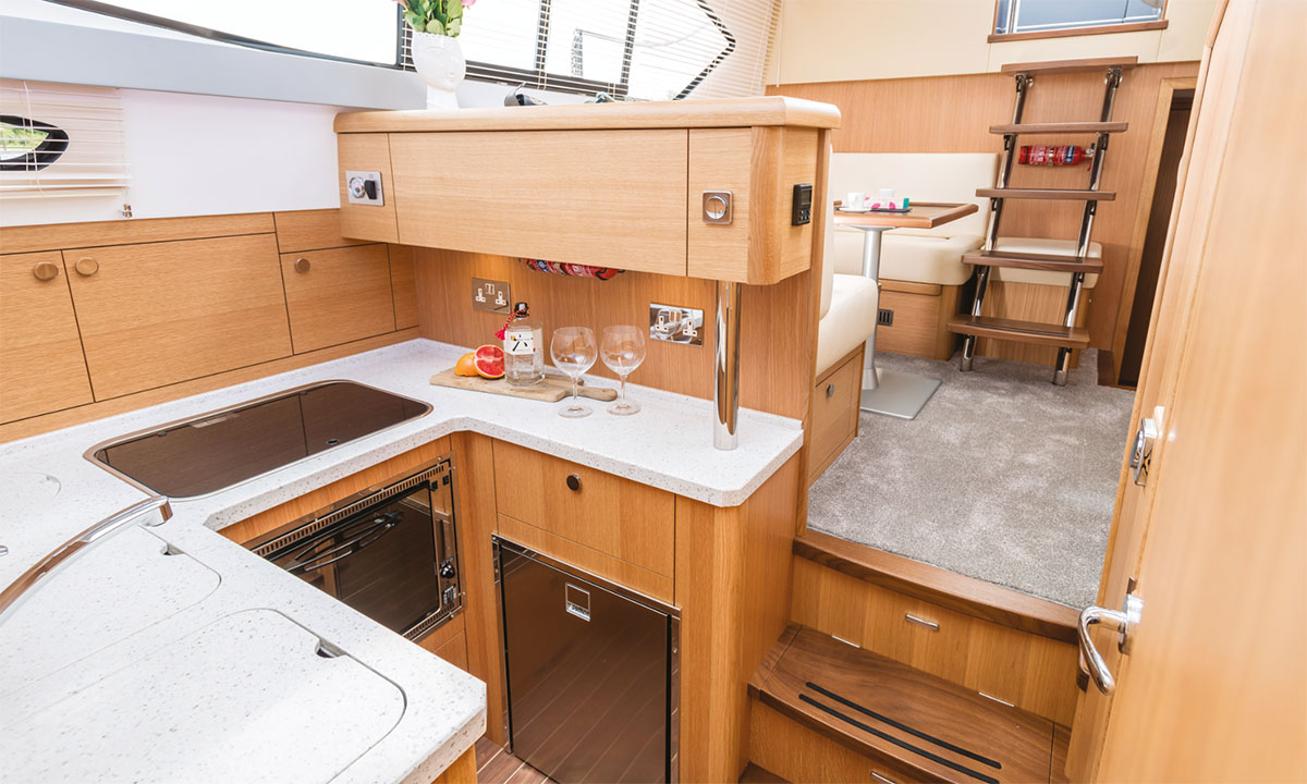 Haines 320 Galley