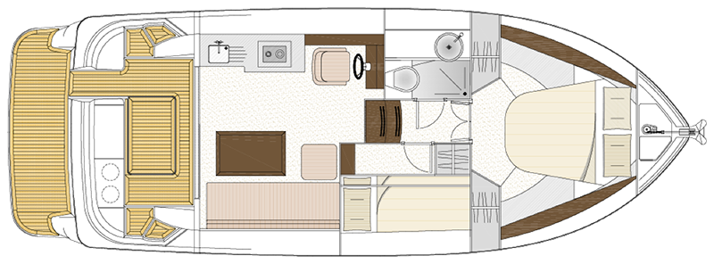 Haines 32 Sedan layout