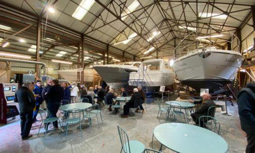 Haines Marine factory tour