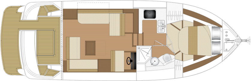 Haines 36 Offshore layout