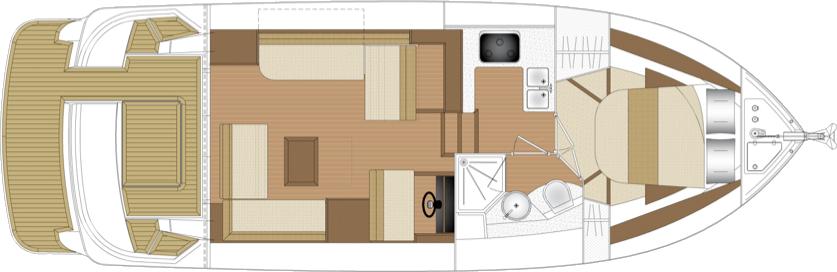 Haines 36 Sedan layout